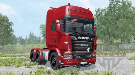 Scania R730 Topline для Farming Simulator 2015