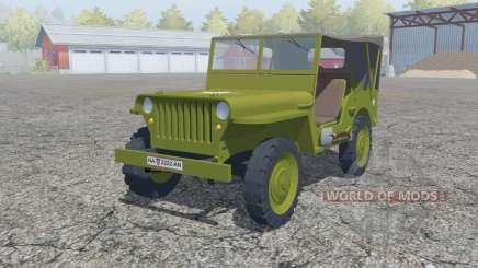 Willys MB 1942 для Farming Simulator 2013