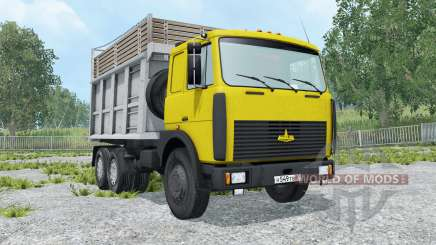 МАЗ-5516 выбор цвета для Farming Simulator 2015