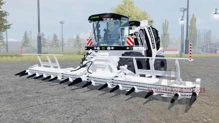 Krone BiG X 1100 black and white для Farming Simulator 2013