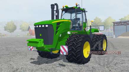 John Deere 9630 twin wheels для Farming Simulator 2013
