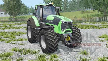 Deutz-Fahr 9340 TTV Agrotron with weight для Farming Simulator 2015