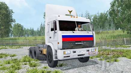 КамАЗ-54115 6x4 для Farming Simulator 2015