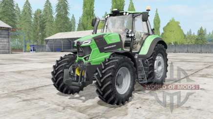 Deutz-Fahr 6 TTV Agrotron power selection для Farming Simulator 2017