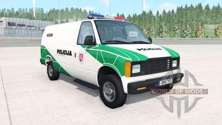 Gavril H-Series Lithuanian Police v1.2 для BeamNG Drive