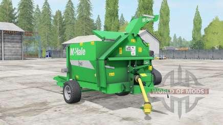 McHale C460 lime green для Farming Simulator 2017