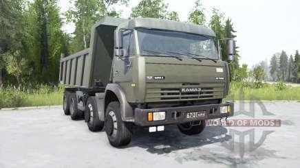 КамАЗ-6540 для MudRunner