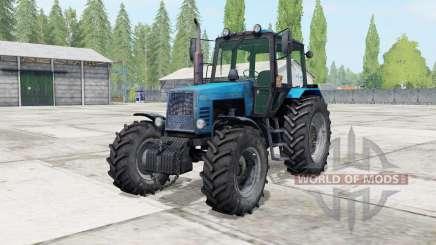 МТЗ-1221 Беларус голубой окрас для Farming Simulator 2017