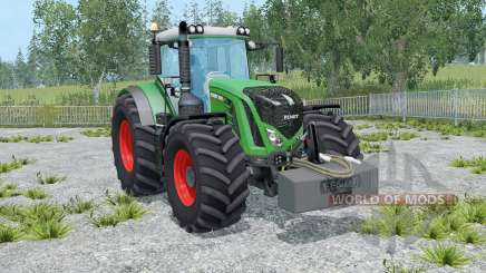 Fendt 936 Vario with weighƫ для Farming Simulator 2015