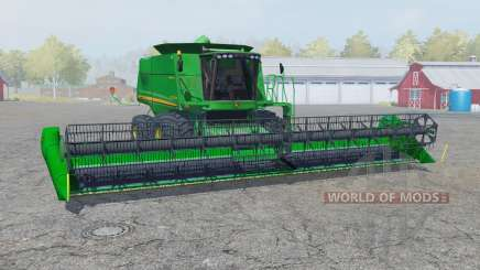 John Deere 9770 STS straw chopper для Farming Simulator 2013