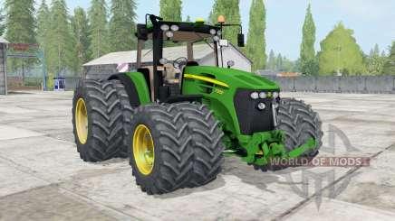 John Deere 7930 ƫwin wheels для Farming Simulator 2017