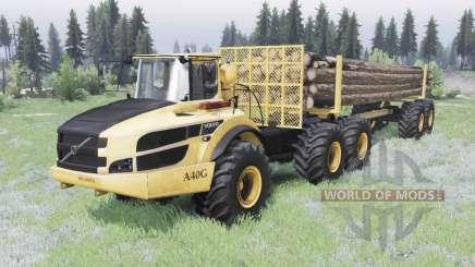Volvo A40G v1.2 для Spin Tires
