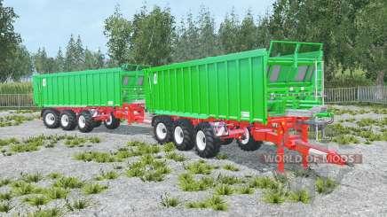 Kroger Agroliner TAW 30 convoy для Farming Simulator 2015