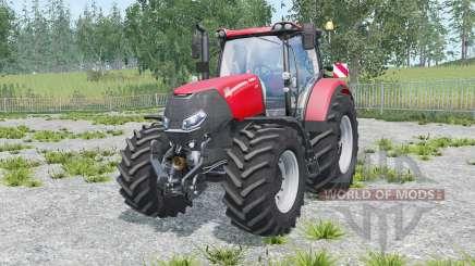 Case IH Optum 300 CVX warning signs для Farming Simulator 2015