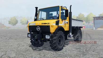 Mercedes-Benz Unimog U1450 (Br.427) tipper для Farming Simulator 2013