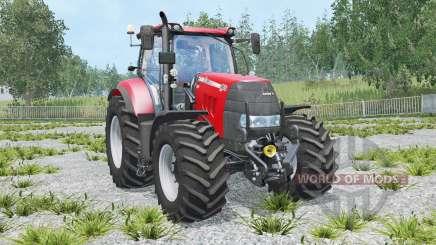 Case IH Puma 165 CVX animated front axle для Farming Simulator 2015