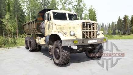КрАЗ-256Б1 для MudRunner