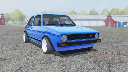Volkswagen Golf GTI 1976 для Farming Simulator 2013