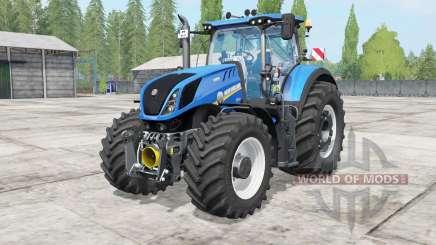 New Holland T7 warning signal для Farming Simulator 2017