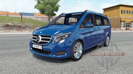 Mercedes-Benz V 250 (W447) 2018 для Euro Truck Simulator 2