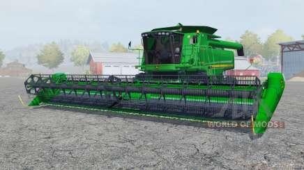John Deere 9770 STS pantone green для Farming Simulator 2013