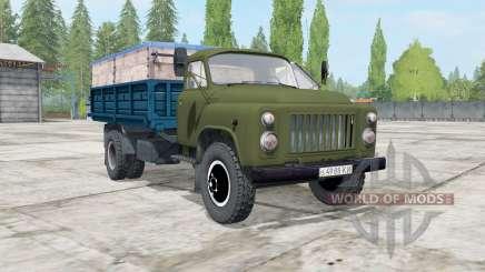 ГАЗ-САЗ-3507 хаки для Farming Simulator 2017