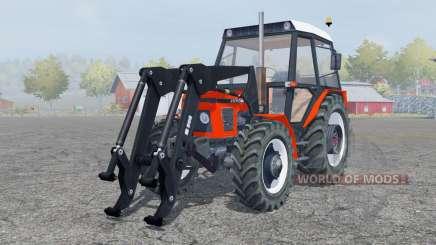 Zetor 7745 fronƫ loader для Farming Simulator 2013