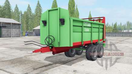 Unia Tytan 8 plus для Farming Simulator 2017