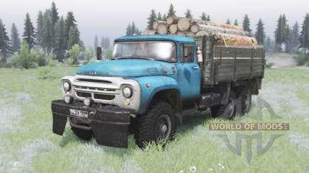 ЗиЛ-130 6x6 внедорожный для Spin Tires