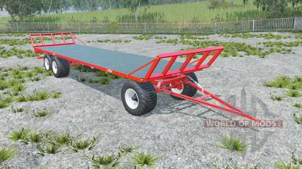 Fliegl DPW 180 longer drawbar для Farming Simulator 2015