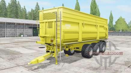 Krampe Big Body 900 S multicolor для Farming Simulator 2017