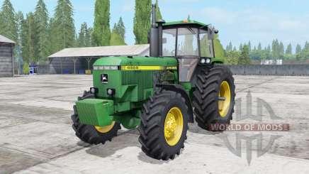 John Deerᶒ 4555-4955 для Farming Simulator 2017