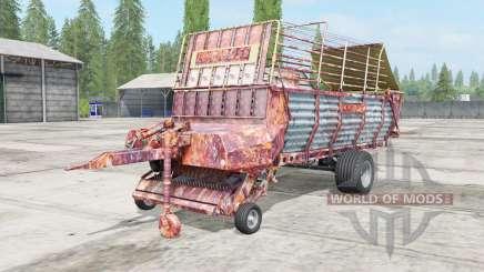 Pottinger EuroBoss 330 T rostig для Farming Simulator 2017