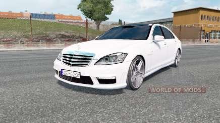 Mercedes-Benz S 65 AMG (W221) 2009 для Euro Truck Simulator 2