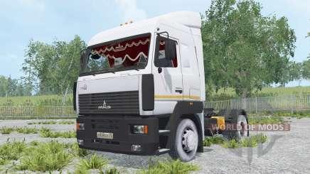 МАЗ-5440А8-370-031 для Farming Simulator 2015