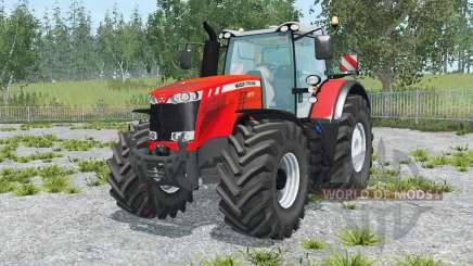 Massey Ferguson 8737 vivid red для Farming Simulator 2015