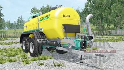 Zunhammer SKE 18500 PU для Farming Simulator 2015