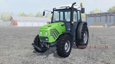 Deutz-Fahr Agroplus 77 moderate lime green для Farming Simulator 2013