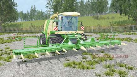 Krone BiG X 1100 grain hopper для Farming Simulator 2015