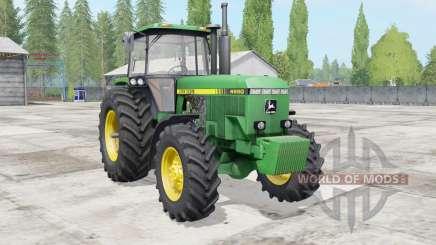 John Deere 4555-4955 для Farming Simulator 2017