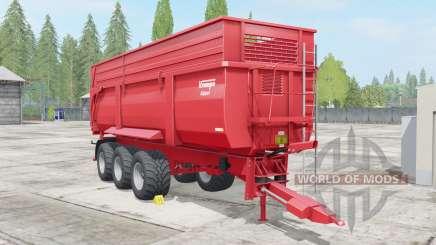 Krampe Big Body 900 S для Farming Simulator 2017