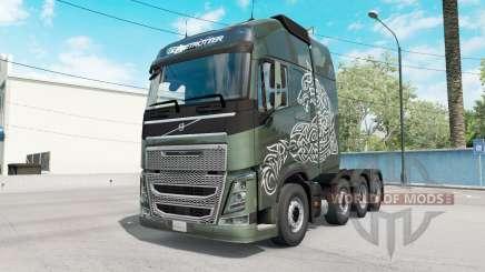 Volvo FH16 Globetrotter для American Truck Simulator