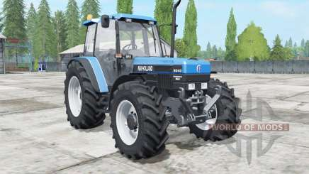 New Holland 8340 super power для Farming Simulator 2017
