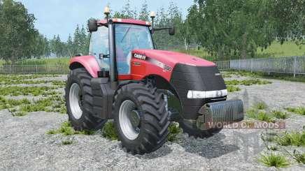Case IH Magnum 380 CVT real engine для Farming Simulator 2015