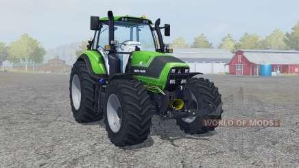 Deutz-Fahr 6190 TTV Agrotron neue Reifen〡Felgen для Farming Simulator 2013