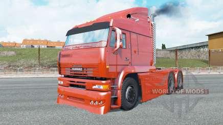 КамАЗ-6460 Turbo Diesel для Euro Truck Simulator 2