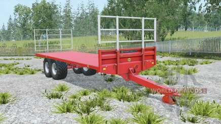 Marshall BC-25 coral red для Farming Simulator 2015