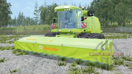 Krone BiG X 1100 highly modified для Farming Simulator 2015