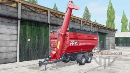 Metaltech PP 20 fertilizer для Farming Simulator 2017