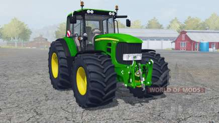 John Deere 7430 Premium manual ignition для Farming Simulator 2013